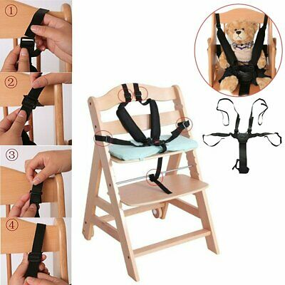 Baby 5 Point Safety Chair Harness Belt Strap for High Chair Feeding Car