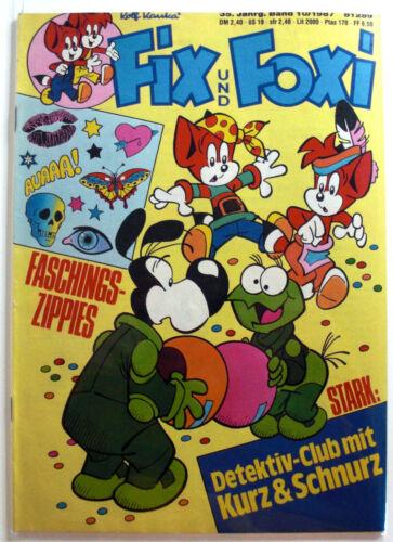 Fix und Foxi Ralf Kauka Fix/&Foxi Sammlung konvolut Heft Comic Comics ab 11 Jahrg