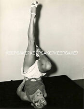 BETTY GRABLE WITH HER MILLION DOLLAR LEGS IN THE AIR LEGGY PHOTO A-BG2
