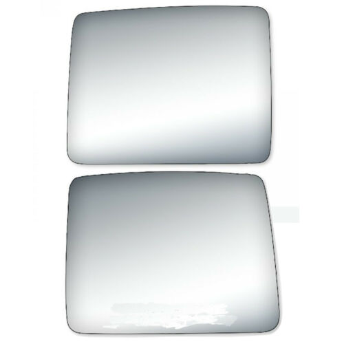 New Upper Pair Set Trailer Towing Mirror Glass for Ford F-150 Pickup