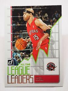 Panini Donruss 2020-21 N3 card NBA All-Time League Leaders Vince Carter #10