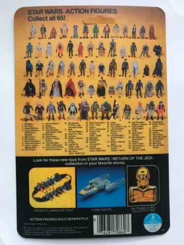 KENNER 1983 GAMORREAN GUARD RESTORATION KIT FIGURE DISPLAY 65 BACK COLLECTION