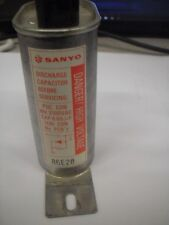 sanyo microwave capacitors sanyo microwave high voltage capacitor 2100 vac 68 mfd uf mounting wires
