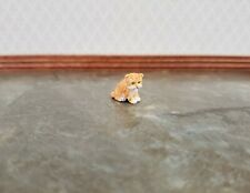 Dollhouse Miniature Lop Eared Bunny Rabbit 1:12 Scale Pet Animal Falcon Resin