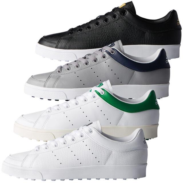 Adidas Golf Homme Adicross Classic Climastorm Crampons en cuir chaussures  de golf