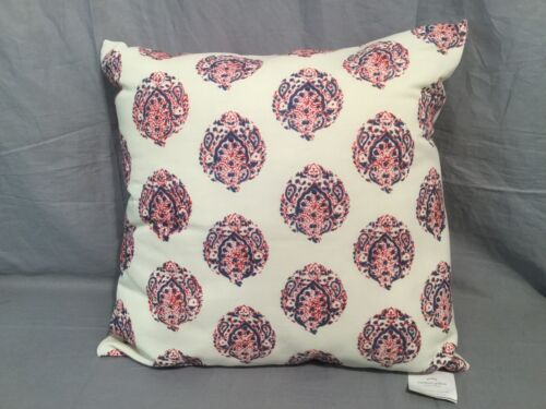 "Pottery Barn Set//2 Marley Print 20"" Indoor//Outdoor Pillows"
