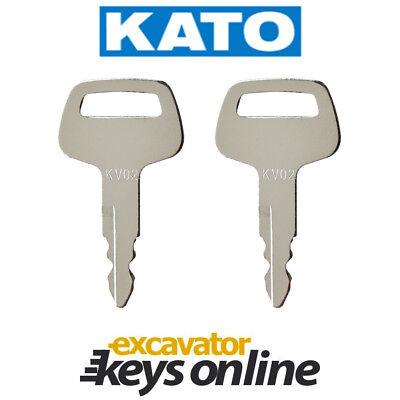 KV02 KATO plant key Common On Excavator Grader Dozer