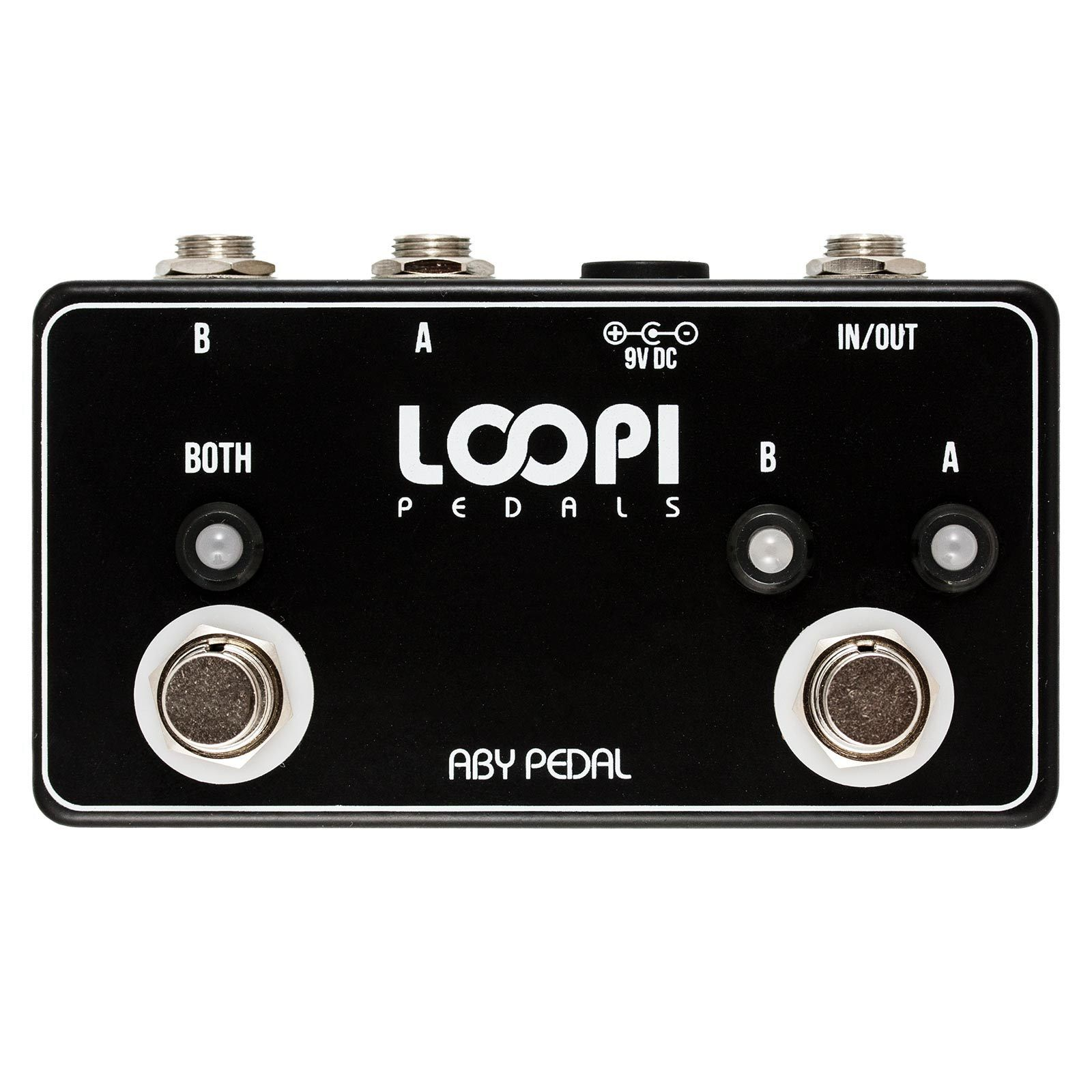 ABY Pedal Guitar Line Switcher - True Bypass - - - Loopi Pedals 34023d