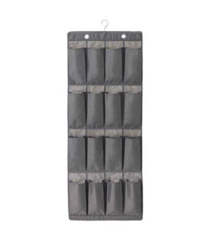 Ikea Skubb Hanging Chaussure Organisateur Bnwt 16 poches gris