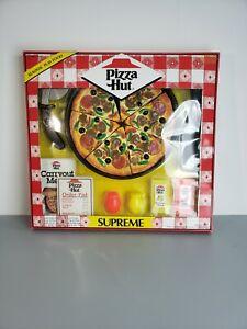 Vintage MTC  Realistic Play Food Supreme Pizza Hut 1988 Kids Toy