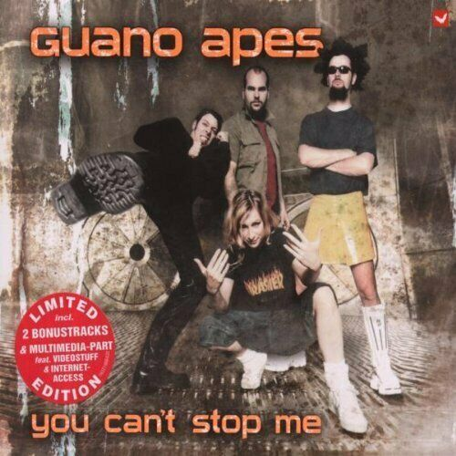 Guano Apes You can't stop me (ltd. edition, 5 tracks/multimedia-part.. [Maxi-CD]