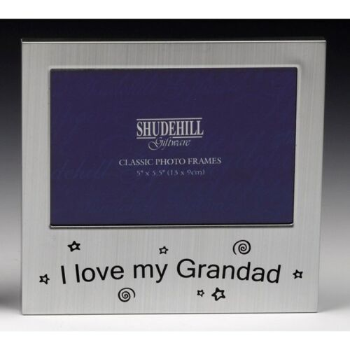 I Love My Grandad Photo Frame 5 x 3 Grandpa Birthday Christmas Fathers Day Gifts