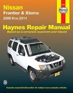 2005 2014 nissan frontier xterra xtrail repair service shop workshop rh ebay com 2003 Nissan Xterra 2015 Nissan Xterra