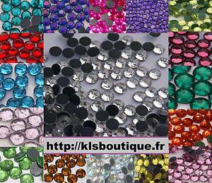 750-Strass-Thermocollant-Hotfix-SS20-4-a-5mm-Couleur-au-Choix