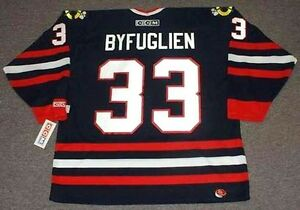 hot sale online 19262 185ea Details about DUSTIN BYFUGLIEN Chicago Blackhawks CCM Throwback Alternate  NHL Hockey Jersey