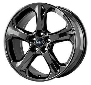 ford fusion pvd black chrome wheels factory rim 3959 exchange 2013 2014 ebay. Black Bedroom Furniture Sets. Home Design Ideas