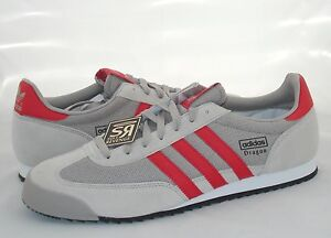 huge selection of 86578 09daf Image is loading New-adidas-Originals-Mens-DRAGON-Shoes-Silver-Gray-