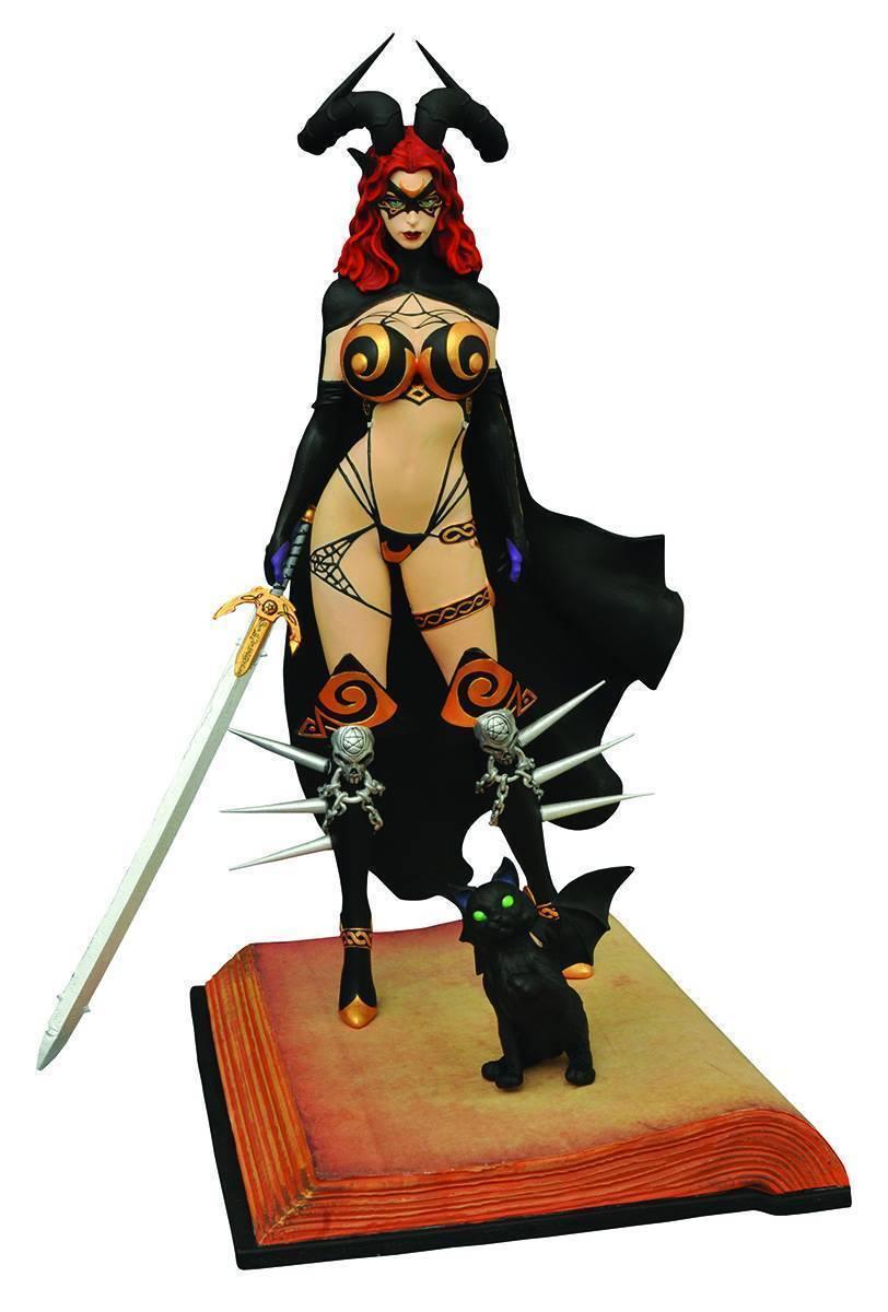 STATUE FEMME FATALES  TAROT - 15th ANNIVERSARY- PVC DIAMOND SELECT - EN STOCK