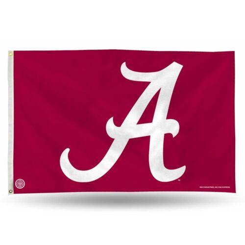 "~NEW Alabama Crimson Tide NCAA Banner Flag 3/' x 5/' 36/"" x 60/"""