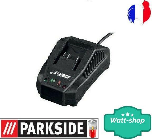 Parkside Chargeur RAPIDE  20V