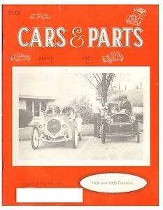 CARS & PARTS March 1977 (1934,1936 Lagonda Rapier,  Plymouth U,Q,  Chrysler 65