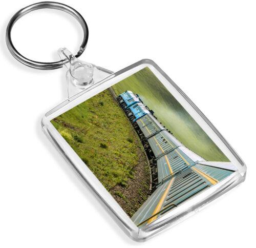 Russia Train Travel Cool Gift #16510 IP02 Trans Siberian Railway Keyring