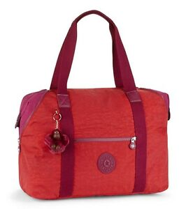 35i Kipling Blk Bolsa Art M Viaje K01362 Red Ebay Vibrant De zzCwqH6O