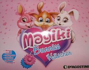 MAGIKI CONIGLIETTI-Set di 4 NUOVI Coniglietti-Baby rapida e LENNY Ciliegia