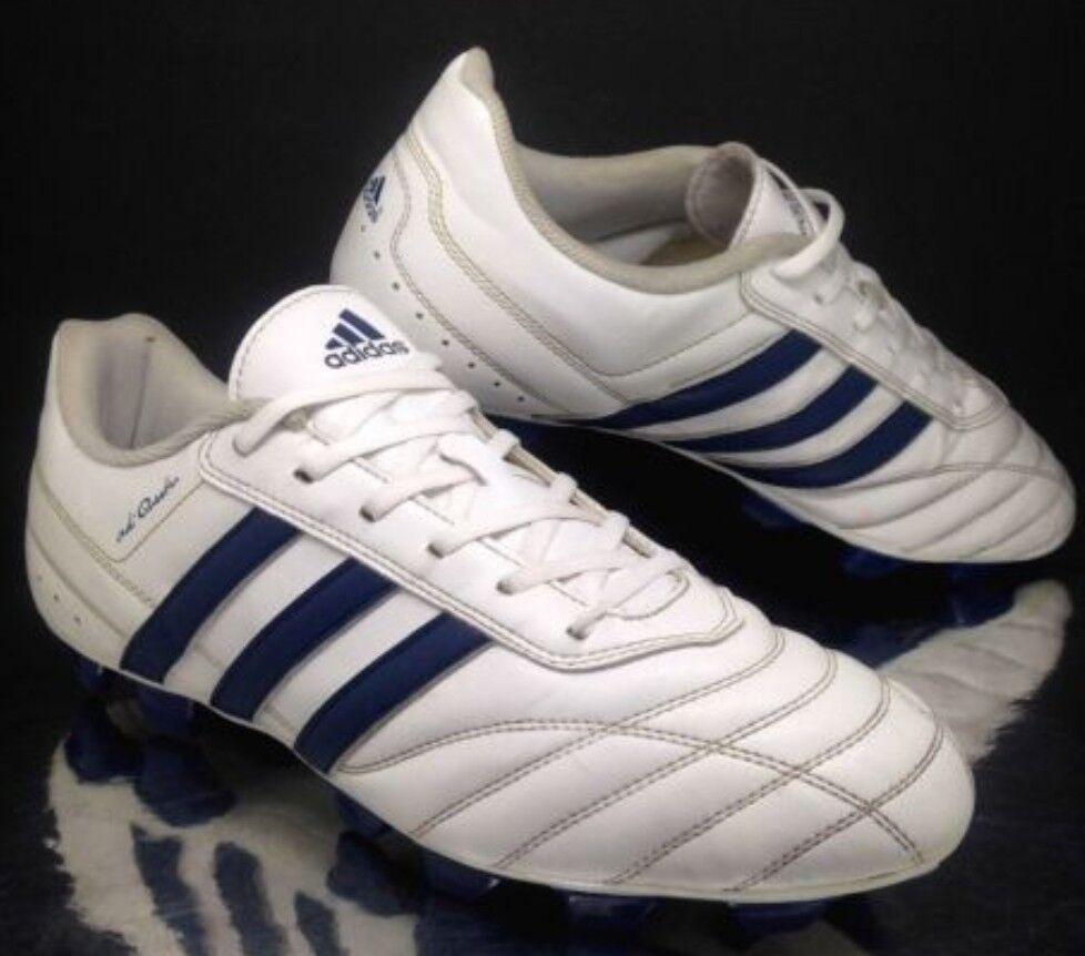 Adidas Cuero de grano lleno 2010 Raro Retro Adi Questra Vintage Supremo Calidad ✨✨✨