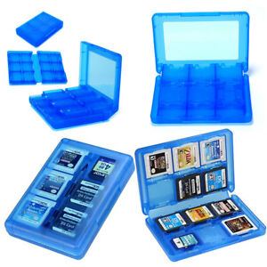 3DSll-3DS-XL-DS-Spiele-2DS-DSi-Aufbewahrung-Spielbox-Schutzhuelle-Game-Case-Mode