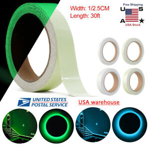 10M Luminous Tape Self Adhesive Glow In The Dark Wall Sticker Fluorescent Light