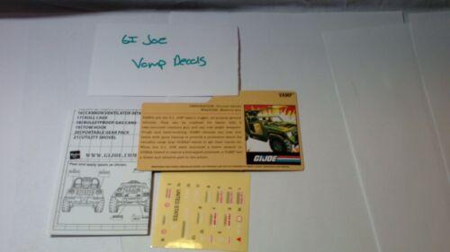 G.I Joe Decals