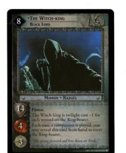 Lord of the Rings LOTR CCG TCG Black Rider Foil Rare cards