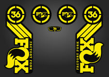 SUSPENSION DECAL SET NEON YELLOW MARZOCCHI 888 BOMBER RCV FORK