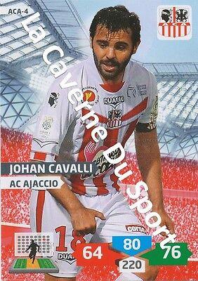 ACA-09 CHAHIR BELGHAZOUANI # AC.AJACCIO CARD ADRENALYN FOOT 2014 PANINI