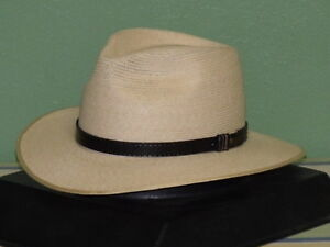 e798f7ee Image is loading AKUBRA-BALMORAL-HEMP-AUSTRALIAN-STRAW-HAT