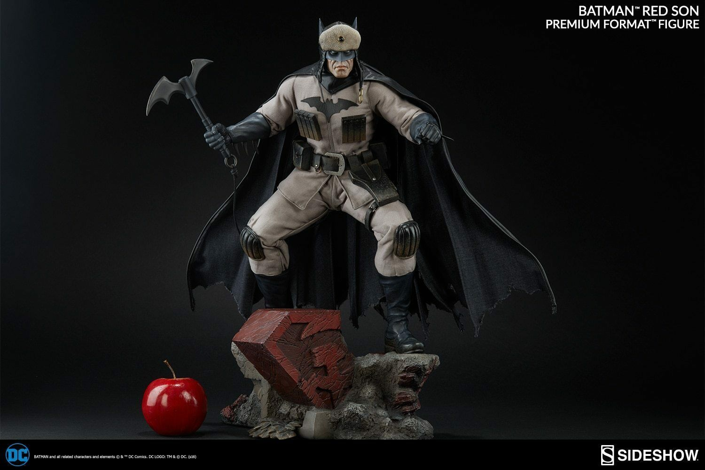 SIDESHOW DC Comics BATMAN RED SON Premium Format PF 1 4 Scale Statue 300427