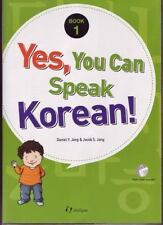 Yes, You Can Speak Korean!: Book 1 Korean Edition