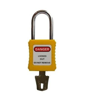 safety lockout padlocks LOTO lock out tag out keyed different ORANGE KD pad lock