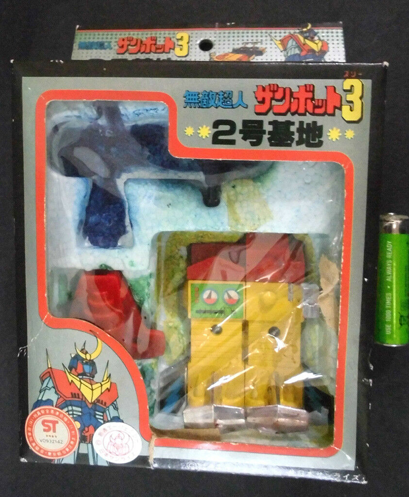 70s Seven Zanbot 3 Second Base Chogokin Diecast Zambot DX Bullmark Takami Popy