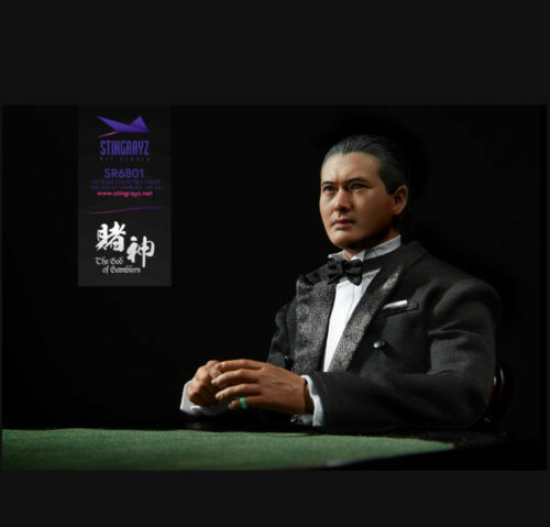 1 6 EB Enterbay Art Studio Dios de los jugadores Chun Chow Yun SR6801 figura KO