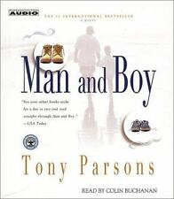 Man and Boy : A Novel by Tony Parsons (2002, CD, Abridged)