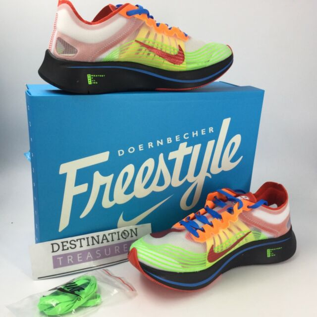 aee0d19f55b8 Nike Doernbecher Freestyle Zoom Fly SP DB M 9 W 10.5 Bv8734 100 2018 for  sale online