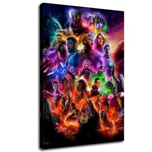 Marvel-Avengers-Endgame-HD-Canvas-Print-Painting-Home-decor-Wall-art-Picture