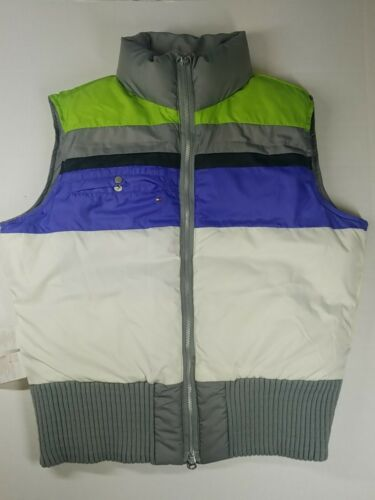 Vintage 90's Tommy Hilfiger Reversible Down Puffer