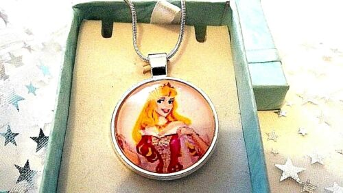 PRINCESS  AURORA SLEEPING BEAUTY STRONG CHAIN 22 inch  GIFT BOXED BIRTHDAY PARTY