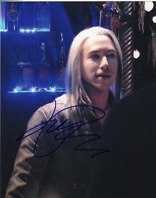 Entertainment Memorabilia Objective Jesse Rath Defiance Alak Tarr Signed 8x10 Photo W/coa #3