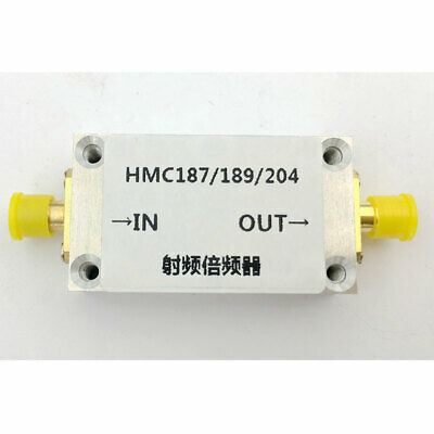 RF Frequency Multiplier Frequency Doubler with Shell 0.87-2GHz 2-4GHz 4-8GHz