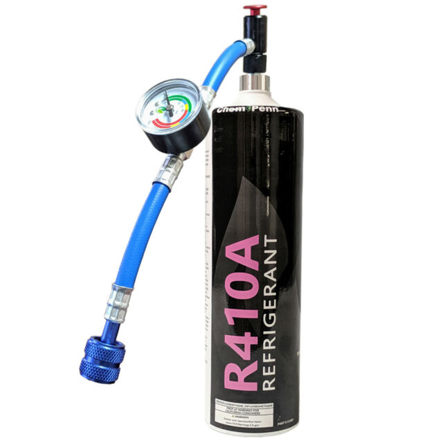 R410a Refrigerant 28 2oz Disposable One Step Can