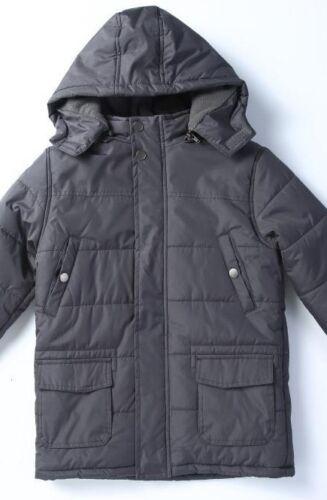 Lion Force Men's LONG Parka Jacket HOODED Winter Coat Fleece Lined ALL SIZE NWT